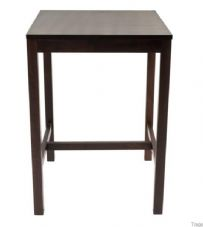 Wooden 4 Leg Poseur Table Base - Square or Round